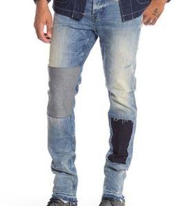 Hudson Sartor Relaxed Skinny Jeans Released Hem